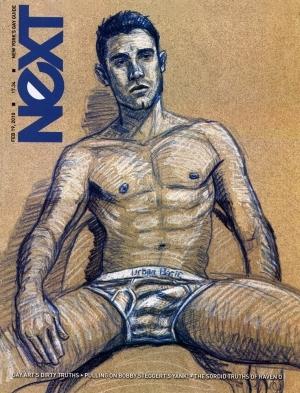 """Next"" Magazine Cover - February 2010"